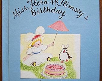 Miss Flora McFlimsey's Birthday by Mariana - Children's Book - Dolls, Friends