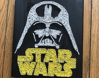 Star Wars and Darth Vader String Art.