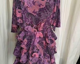 beautiful vintage Bohemia dress