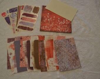 "Creative Memory (2007) Valentine Power Palette 7""x 7"""