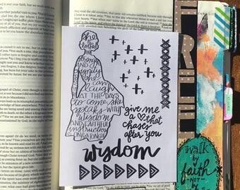 CF0001 - Proverbs31.Wisdom - Stamp Set