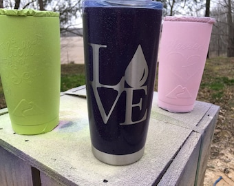 20 ounce Stainless Steel Tumbler Essential Oils
