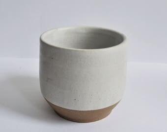 Matte White Glazed Mug