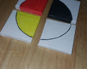 Mini Medicine Wheel Painting
