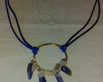 Blue Goddess Necklace
