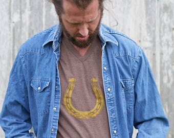 Lucky Horseshoe Tee