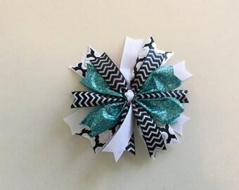 Handmade Sparkle Girls Hair Bow