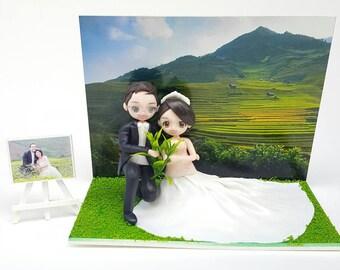 Figure, Wedding, Cake toppers
