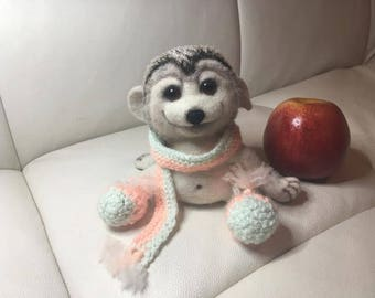 felted toy- Hedgehog