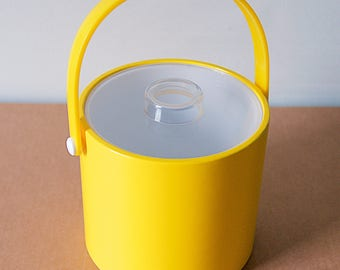 1970's, Lemon Yellow Ice Bucket