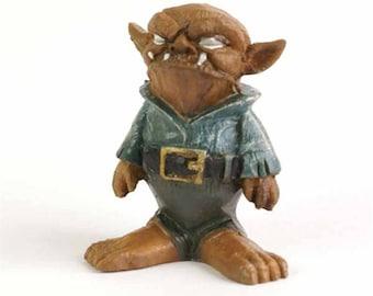 Fairy garden Fiddlehead Bob the goblin