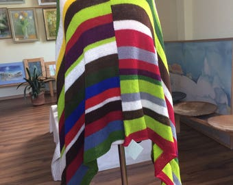 Multiple Color Pancho Bohemian