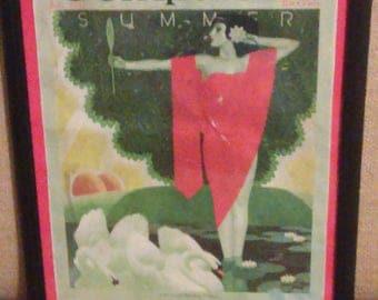 Ephemera 1931 Ladies Home Companion magazine cover