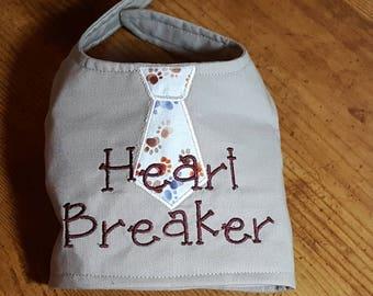 Heart Breaker Tie Dog Harness Vest