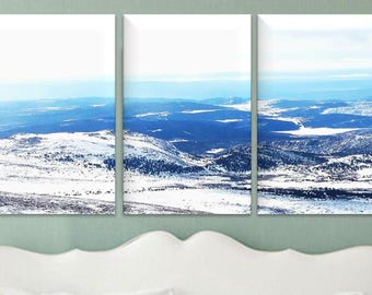 Colorado Rocky Mountains- Canvas Wall Art photo, canvas printing, canvas art 1, 2, 3 or 4 panel option- photography to canvas prints