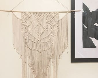 Macramé Wall Hanging  | Wall Art One of a Kind