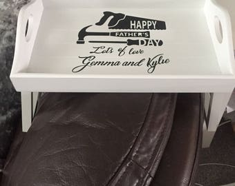 Fathers Day Armrest Tray,