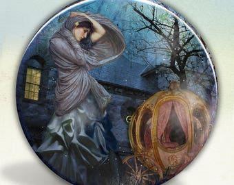 Cinderella Fairy Tale Pocket Mirror tartx