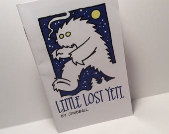 Little Lost Yeti Comic