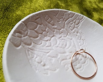 darling little clay ring dish