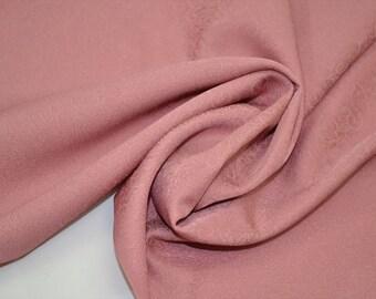 Vintage silk kimono bolt  - rosie pink - 12.5 yards