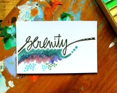 SALE - serenity - 4 x 6 inches