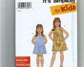 Simplicity Child's Dress Pattern 9172