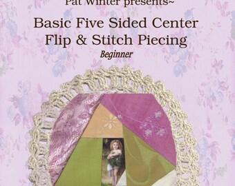 Crazy Quilt Digest issue 6 piecing a purse
