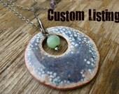Custom Monarch Opal Ring for Linda