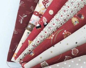 Japanese Fabric: Kawaii Bundle