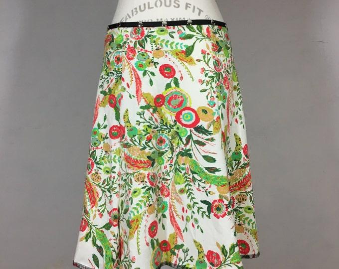 Snap Around Skirt, Pure Garden Flirt by Erin MacLeod