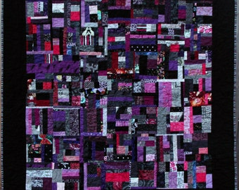 Tintamarre Quilt art throw