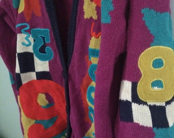Vintage Awesome 1980's sweater