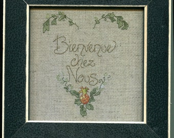 Welcome to Our Home Cross-stitch