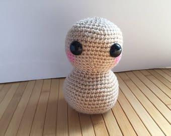 Large Peanut Amigurumi Doll