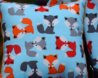 Shopping Cart Cover - Shopping cart cover for BOY or GIRL -  Custom Boutique Cart Cover - Foxes