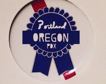 Portland, Oregon PBR Magnet
