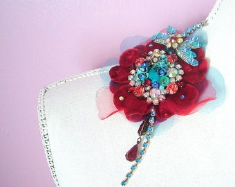 Old School Romance - OOAK Brooch - Ready to ship x