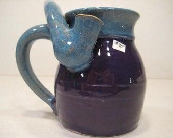 Blue & Purple *  - Wake and Bake Small  Mug....  MUG and a PIPE.... AWESOME !!!  .......  a29
