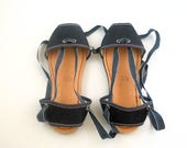 flat albarca espadrilles - A2 - denim & vegan - unisex sizes 36 to 42