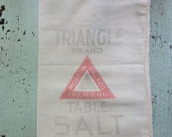 Small Antique Salt Sack