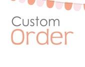 Custom Order for Rima