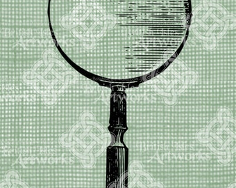 Digital Download, Magnifying Glass
