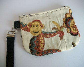 Monkey Cell Detachable Wriststrap Child