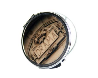 Opening Night Gifts, Theatre Gifs, Mirror, Compact Mirror,  Makeup Mirror, NYC Mirror,Gift for Her, Gift for Women, NYC Gift, Birthday Gift