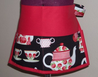 Out for Tea kitchen apron