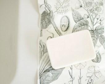 3 BARS - Bourbon & Vanilla Shea Butter Soap - Men's Soap