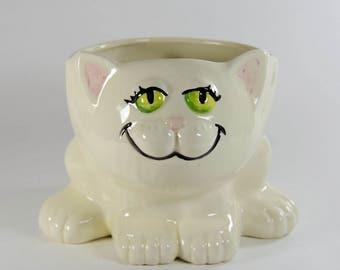 Cat Planter Vase