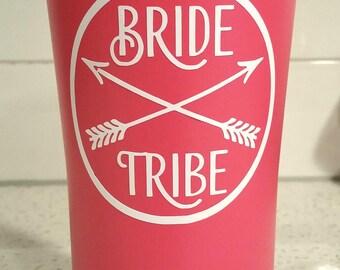Bride Tribe Stainless Steel Tumbler - Ozark Trail - 20 oz - Custom Color & Wording Options