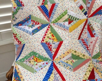 Reproduction Fabric Quilt--Free Shipping